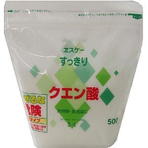 エスケー石鹸 すっきりクエン酸 500G|zaccaya