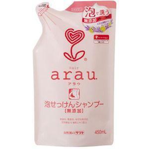 東京サラヤ アラウ (arau) 泡せっけんシャンプー つめかえ 450ml