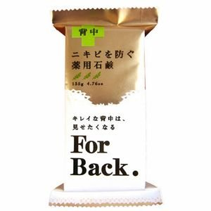 ペリカン石鹸 ペリカン 薬用石鹸 ForBack ハーバル シトラスの香り 135g|zaccaya