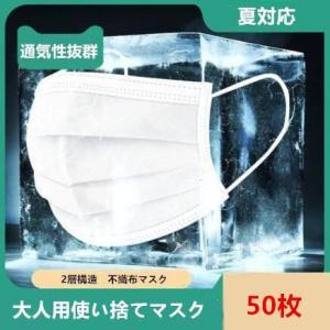 30枚入 マスク 大人用マスク mask 使い捨てマスク 2層構造 UVカット 通気性 薄い 防水 ...
