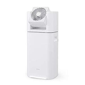 アイリスオーヤマ 衣類乾燥除湿機 スピード乾燥 サーキュレーター機能付 デシカント式 ホワイト/グレー IJD-I50-WHの画像