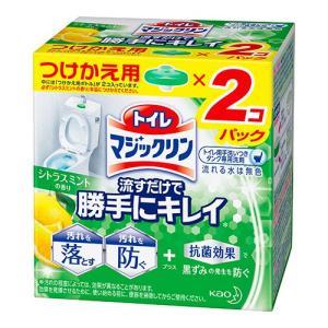 [花王]トイレマジックリン 流すだけで勝手にキレイ シトラスミントの香り つけかえ用 160g(80...