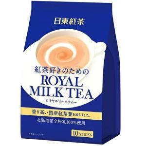 [三井農林]日東紅茶 ロイヤルミルクティー 10本入