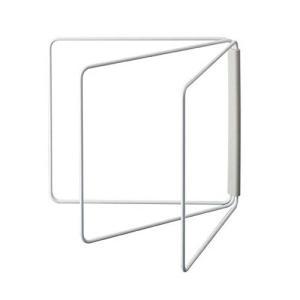 [山崎実業]折り畳み布巾ハンガー プレート ホワイト/キッチン用品/ふきん|zagzag