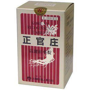 【第3類医薬品】正官庄(せいかんしょう) 高麗紅蔘錠 380錠