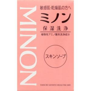 [第一三共ヘルスケア]ミノン スキンソープ 80g/敏感肌/...