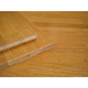 1-29 ウ) ラバーウッド ゴムの木 フローリング材 FJL4Pタイプ ハニーカラー(1820×150×15 1束=6枚入)【無垢 床材】|zaimoku-techan