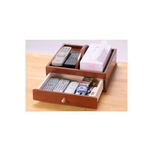 卓上収納 幅32cm リモコン収納 眼鏡収納 小物入れ リモコンラック 小物収納 整理箱 持ち手付|zak-kagu
