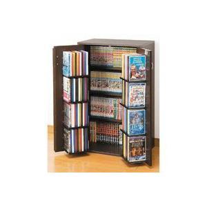日本製 収納ラック4段 カギ付 幅59.5cm コミックラック DVDラック Blu-ray 収納ラック 窓下収納 大容量収納|zak-kagu