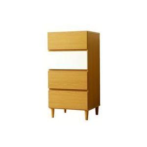 ナチュラル光沢仕上げ,収納チェスト45cm幅,おしゃれタンス,衣類たんす,衣類収納,収納家具,リビング収納