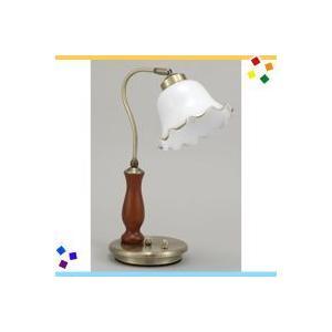 テーブルライト 卓上ライト 調光式ライト 照明スタンド アンティーク調|zak-kagu