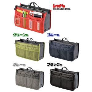 バッグ イン バッグ bag in bag カバン 中身 整理整頓 小物 小分け ポケット 多い インナーバッグ 取っ手付|zak-kagu|03