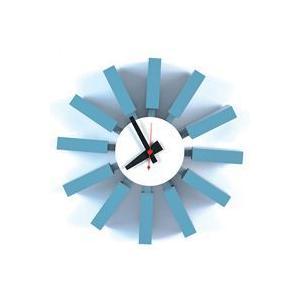 ジョージ・ネルソン,ブロッククロック,ネルソンクロック,壁掛時計,デザイナーズ・リプロダクト|zak-kagu