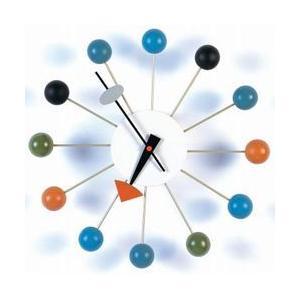 ジョージ・ネルソン ボールクロック 壁掛時計 掛け時計 ネルソンクロック デザイナーズ雑貨|zak-kagu
