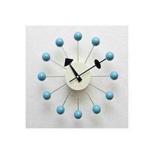 ジョージ・ネルソン,ボールクロック/ブルー単色,ネルソンクロック,壁掛時計,掛け時計,デザイナーズ|zak-kagu