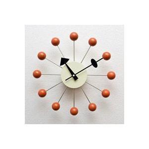ジョージ・ネルソン,ボールクロック/オレンジ単色,ネルソンクロック,壁掛時計,掛け時計,デザイナーズ|zak-kagu