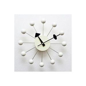 ジョージ・ネルソン,ボールクロック/ホワイト単色,ネルソンクロック,壁掛時計,掛け時計,デザイナーズ|zak-kagu