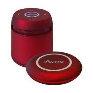 アボックス Bluetoothポータブルスピーカー ASP-BT200DR レッド|zaka-mmc
