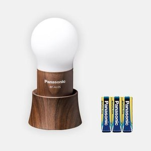 パナソニック エボルタ乾電池付LEDランタン 球ランタン BF-AL05-TM|zaka-mmc