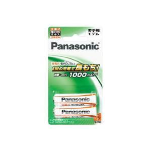 【メール発送・代引き不可】パナソニック ニッケル水素充電池 単三 2本パック BK-3LLB/2B|zaka-mmc