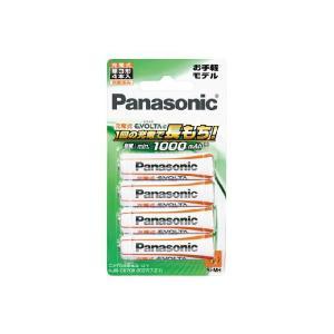 【メール発送・代引き不可】パナソニック ニッケル水素充電池 単三 4本パック BK-3LLB/4B|zaka-mmc