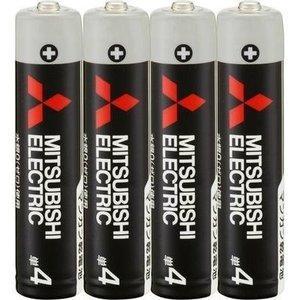 三菱 マンガン乾電池(単4形 4本パック)R03UD/4S 【メール便発送・代引き不可】|zaka-mmc