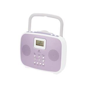 【在庫限りの大特価】コイズミ 防沫型シャワーCDラジオ SAD-4308-P|zaka-mmc