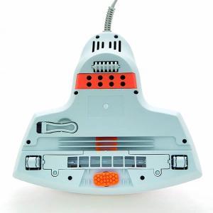 オーム電機  【温風・たたき機能付き】ふとんクリーナー ホワイト&オレンジ SOJ-FA45B1-W|zaka-mmc|04
