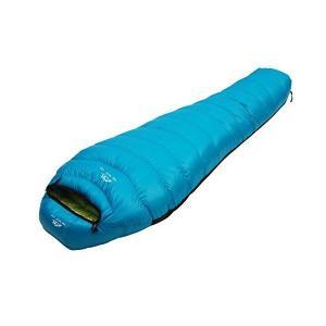 LMR寝袋 マミー型 高級ダウンシュラフ 防水 軽量 アウト...