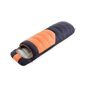 Tooge 寝袋 封筒型 冬用 快適温度-10℃5℃ 収納袋...