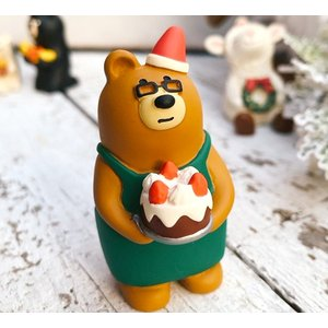 DECOLE デコレ クリスマス雑貨 かわいい雑貨 サンタ 小人 クリスマスマスコット ディスプレイ /  concombre クリスマスのコンブルマスター|zakka-candy