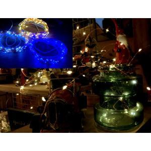 ソーラー led イルミネーション ガーランド ライト / クリスマス ディスプレイ 特価 おしゃれ インテリア かわいい|zakka-candy