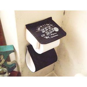 おしゃれ 男前デザイン インダストリアル トイレ/Cozydoors ペーパーホルダーカバー A New Day zakka-candy