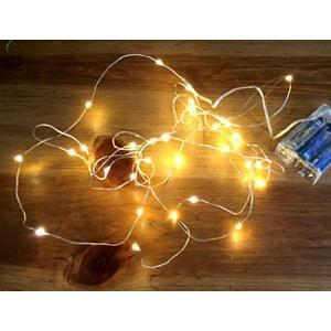 SIZE:全長約330cm 素材:LED電球 made in China 使用電池:単三乾電池3個(...