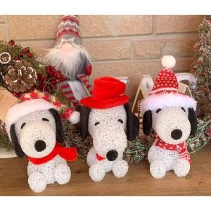 クリスマス EVAライト SNOOPY スヌーピー S / かわいい プレゼント ギフト present インテリア ディスプレイ イルミネーション|zakka-candy
