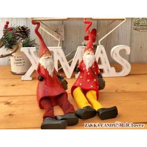 クリスマス Christmas 北欧雑貨 クリスマス雑貨 可愛い ディスプレイ  / トールハット サンタサンタM|zakka-candy