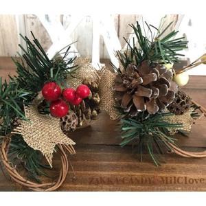 フェイクグリーン 松ぼっくりクリスマス雑貨 Christmas ディスプレイ クリスマス オーナメント 飾り ナチュラル インテリア / クリスマス デコレーショピック|zakka-candy