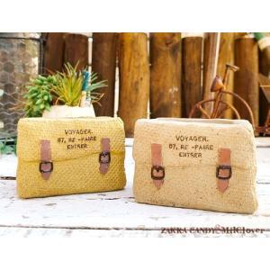 鞄 バッグ型 ポット ボヤージュ ワイド / ガーデニング ガーデン雑貨 インテリア 小物 ミニチュア 可愛い 鞄|zakka-candy