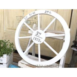 ガーデン ガーデニング ナチュラル おしゃれ かわいい 木製 車輪 / トロワメゾンウッドウィール