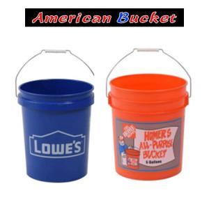 アメリカン バケツ プラスチック アメリカ直輸入 バケツ 5gallons 19L 洗車 おもちゃ入れ 掃除道具入れ 洗車道具 仕事 ツールボックス