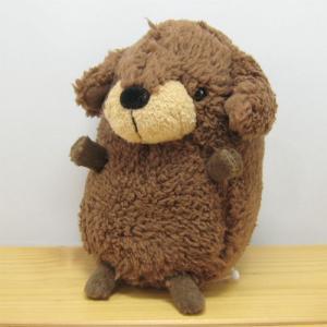 犬 ぬいぐるみ baby nature(ベイビーナチュレ) ダックス(ブラウン) ぬいぐるみ Sサイズ ダックスフンド 雑貨 ダックスフンド グッズ 犬|zakka-fleur