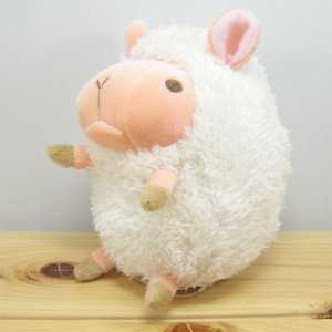 ひつじ ぬいぐるみ baby nature(ベイビーナチュレ) ひつじ(アイボリー) ぬいぐるみ Sサイズ 羊 ヒツジ グッズ 雑貨|zakka-fleur