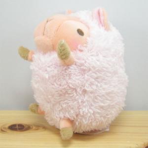 ひつじ ぬいぐるみ baby nature(ベイビーナチュレ) ひつじ(ピンク) ぬいぐるみ Sサイズ 羊 ヒツジ グッズ 雑貨|zakka-fleur
