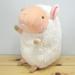 ひつじ ぬいぐるみ baby nature(ベイビーナチュレ) ひつじ(アイボリー) ぬいぐるみ Mサイズ 羊 ヒツジ グッズ 雑貨|zakka-fleur