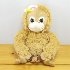 ベイビーココ&ナツ フルボディポーチ ナツ Natsu  Baby Coco&Natsu 小物入れ化粧ポーチ かわいい コスメ おしゃれ オランウータン 雑貨 zakka-fleur
