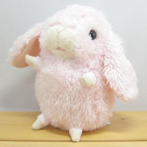 うさぎ ぬいぐるみ baby nature(ベイビーナチュレ) ロップイヤー(ピンク) ぬいぐるみ Sサイズ うさぎ ウサギ グッズ 雑貨|zakka-fleur