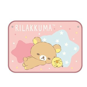 リラックマ マイヤー ひざかけ ピンク ひざ掛け 毛布 ブランケット ふわふわ キャラクター おしゃれ 冬物グッズ 防寒 かわいい|zakka-fleur