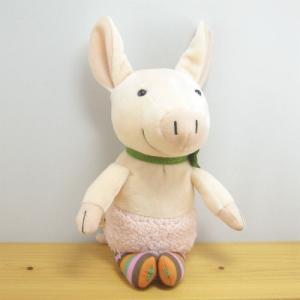童心 goodLuck(グッドラック) ぬいぐるみSサイズ ブタのピンク ぶた ぬいぐるみ 雑貨 グッズ 豚|zakka-fleur
