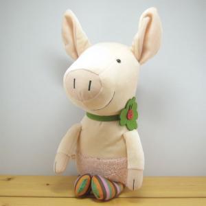 童心 goodLuck(グッドラック) ぬいぐるみMサイズ ブタのピンク ぶた ぬいぐるみ 雑貨 グッズ 豚|zakka-fleur