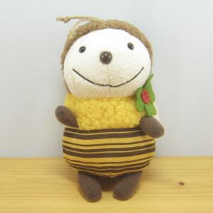 童心 goodLuck(グッドラック) ぬいぐるみSサイズ ミツバチのルンルン みつばちぬいぐるみ 雑貨 グッズ|zakka-fleur